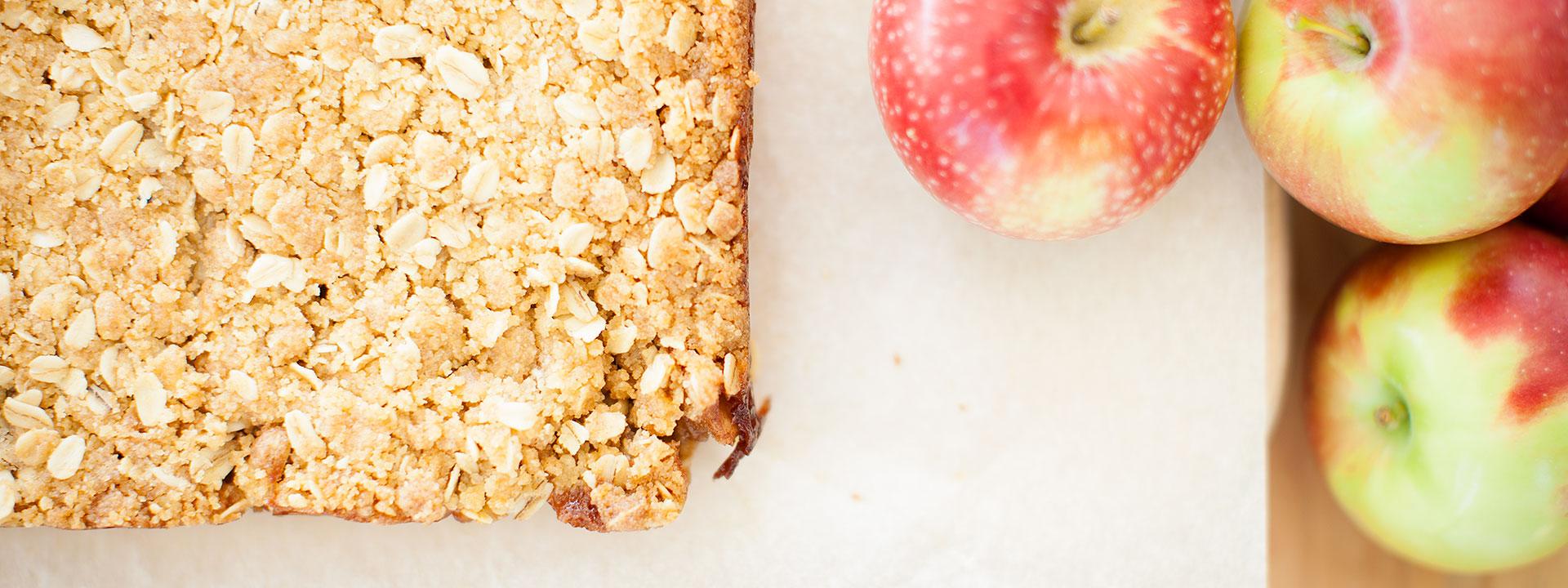 Discover recipes with our orchard apples Au coeur de la pomme