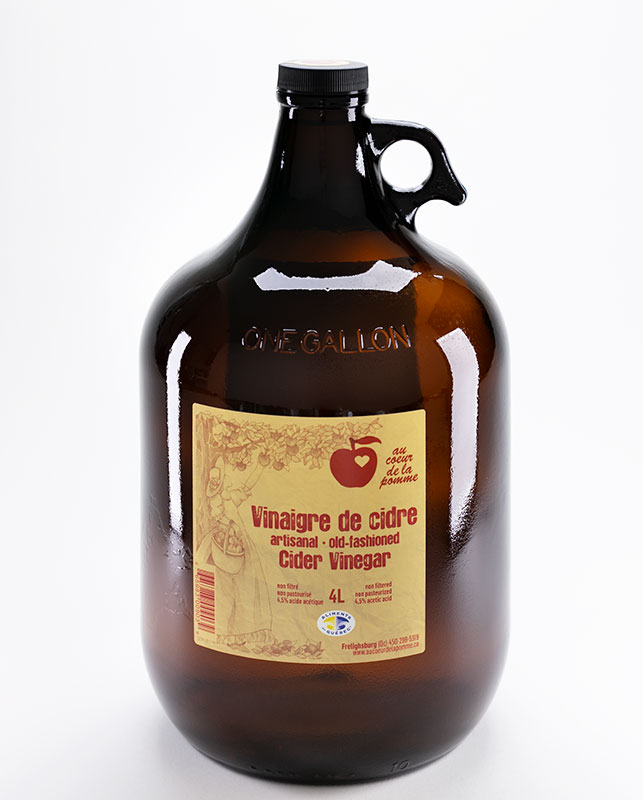 Au cœur de la pomme Old-fashion Vinegar 4L