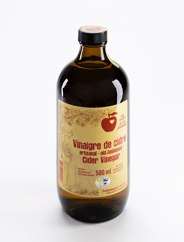 Au cœur de la pomme Old-fashion Vinegar 500ml