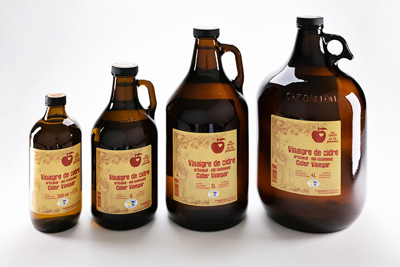 Au cœur de la pomme Old-fashion Vinegar 4L, 2L, 1L and 500ml